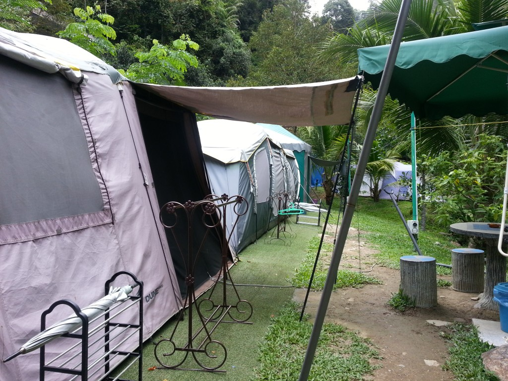 Glamour camping  in Tanah Aina Resort