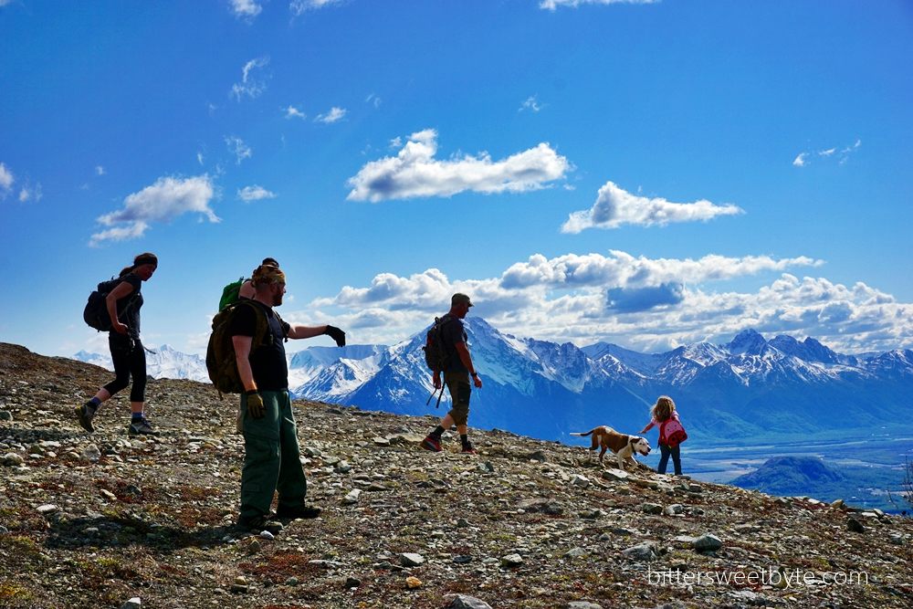 hiking lazy mountain alaska 45
