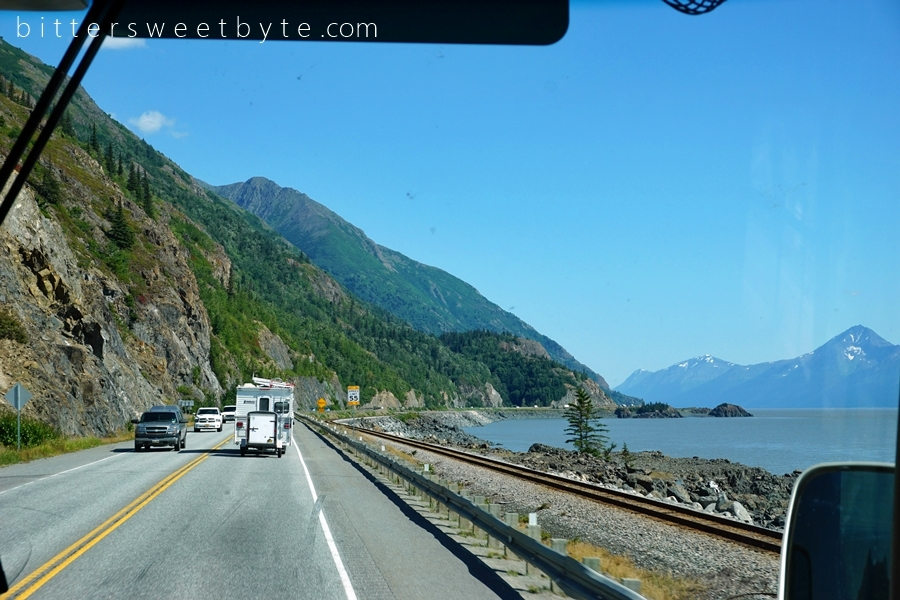 Road to Seward Scenic Drive