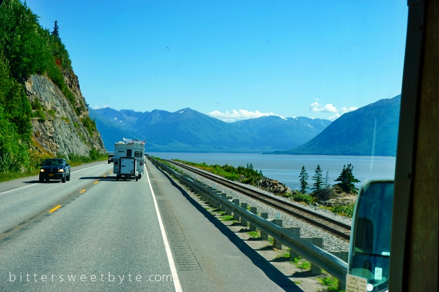 Road to Seward Scenic Drive 1