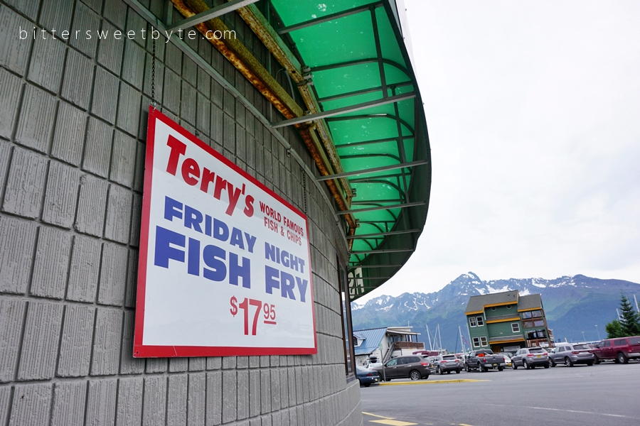 Terry's world famous fish and chips seward alaska