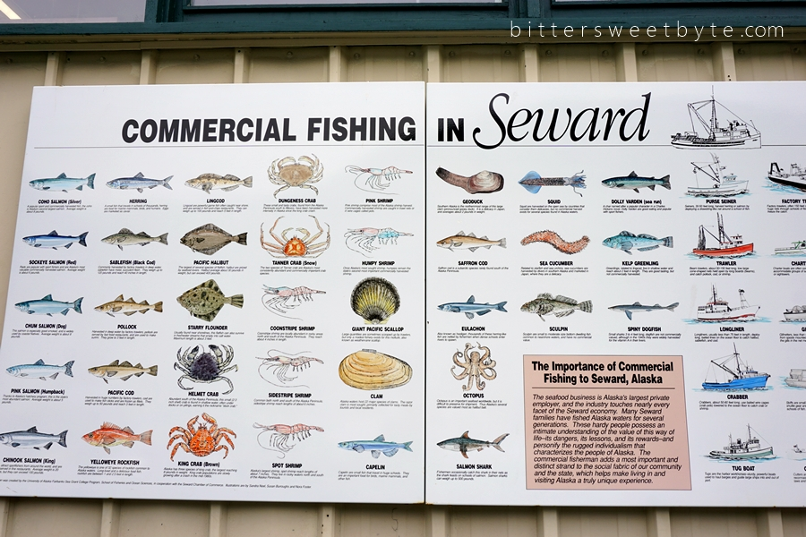 commercial fish in Alaska