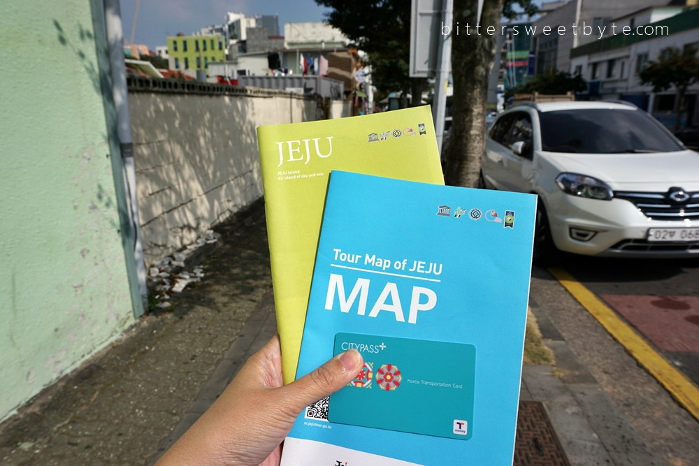 Tour map of Jeju