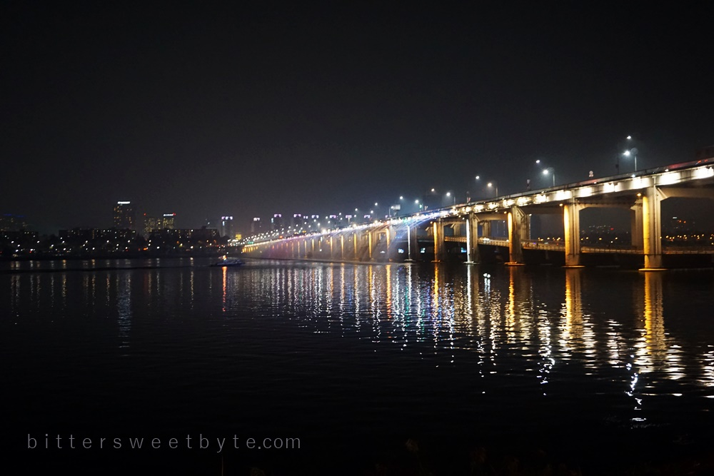 rainbow bridge seoul