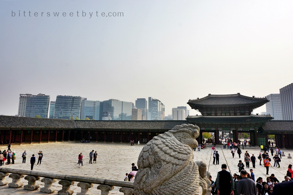 While in Seoul : Gyeongbokgung Palace