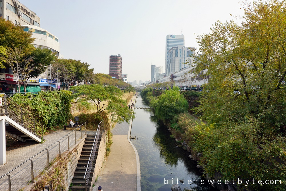 Cheonggyecheon seoul 1