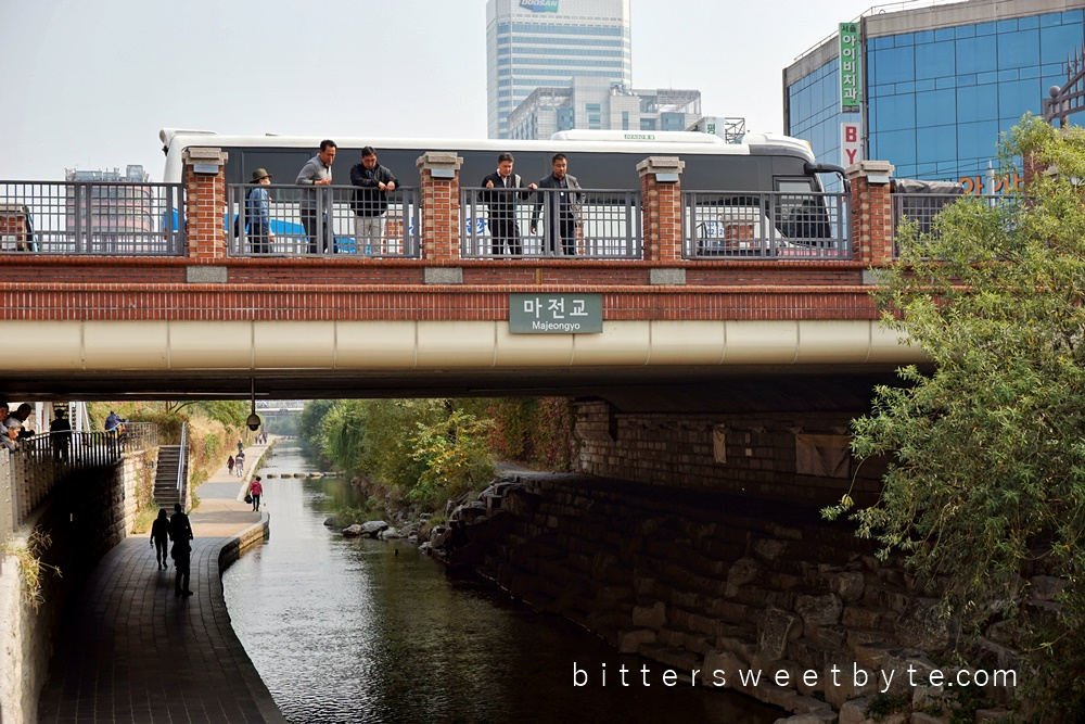 Cheonggyecheon seoul 7
