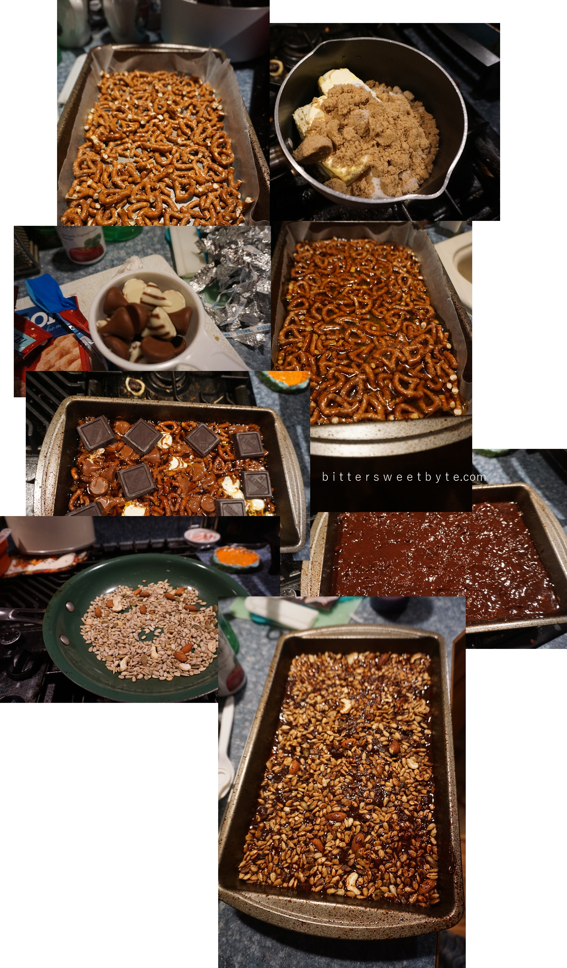 easy recipe to make chocolate bark