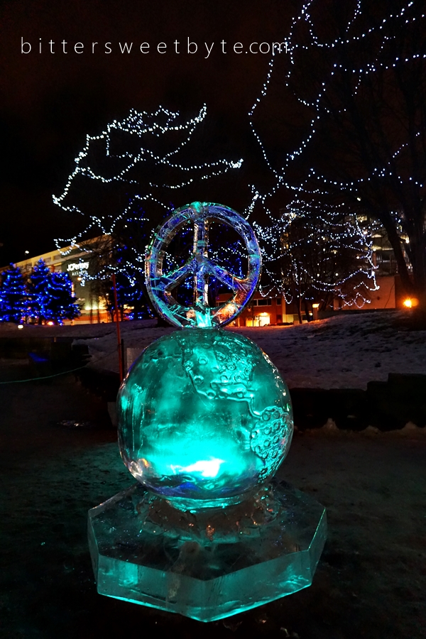 Ice Sculptures in Anchorage 2