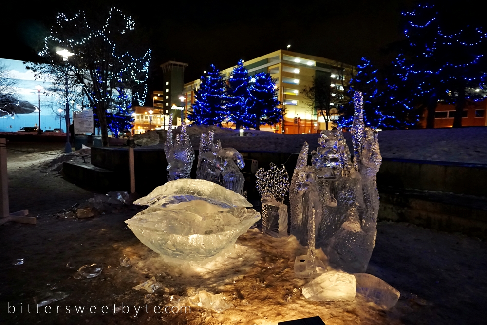 Ice Sculptures in Anchorage 3