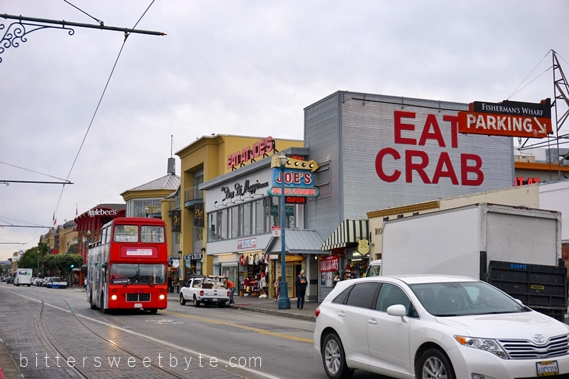 guide to one day tour in San Francisco - Fisherman's Wharf