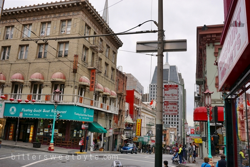 guide to one day tour in San Francisco- Chinatown