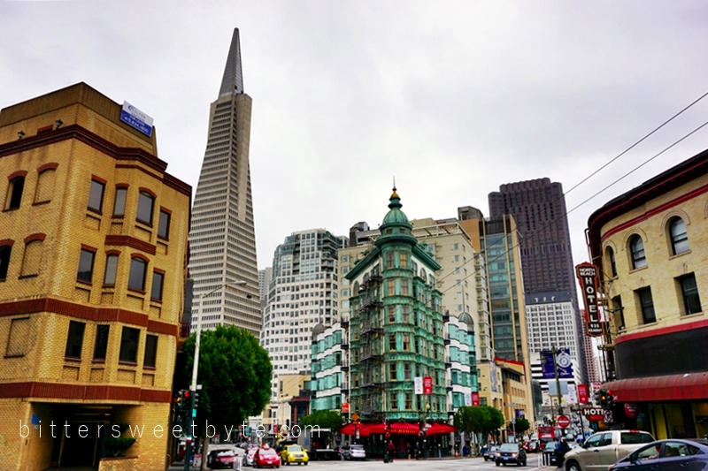 guide to one day tour in San Francisco - Transamerica Tower