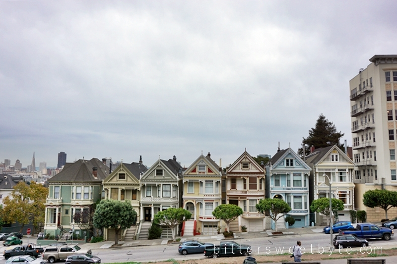 guide to one day tour in San Francisco- The Painted Ladies