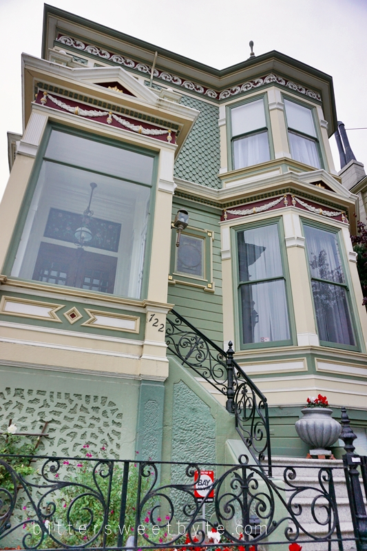 guide to one day tour in San Francisco - The Painted Ladies