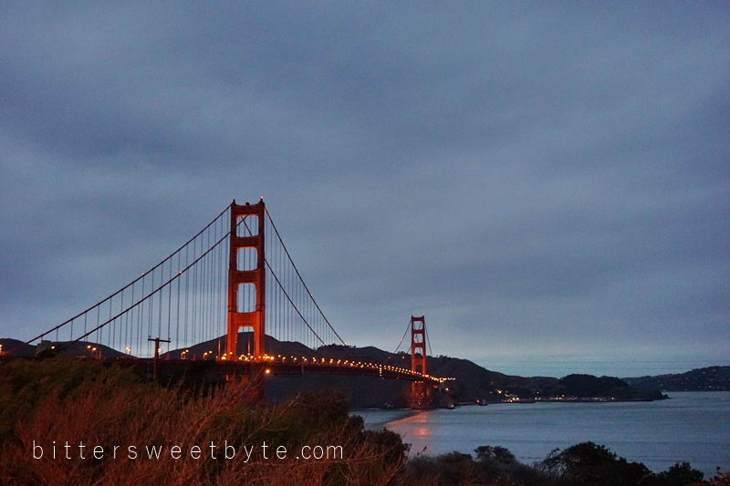 guide to one day tour in San Francisco - golden Gate Bridge