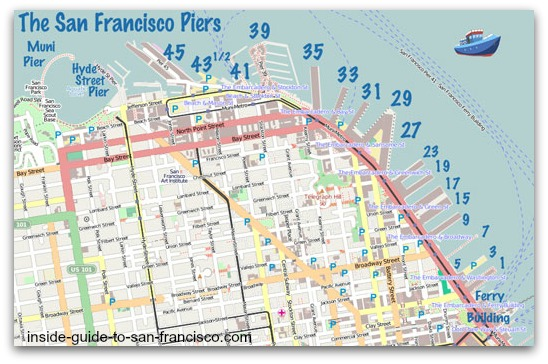 san-francisco-piers-map