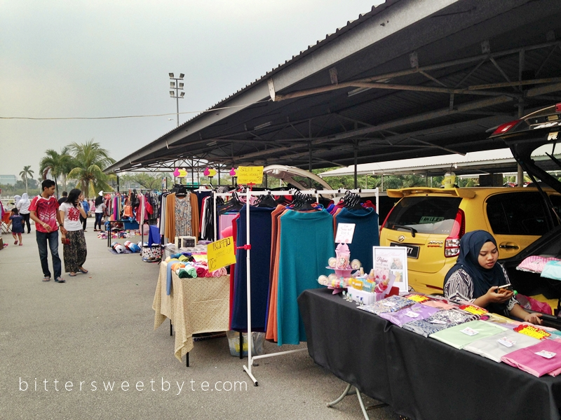 Carboot sale Tesco Extra Shah Alam 1