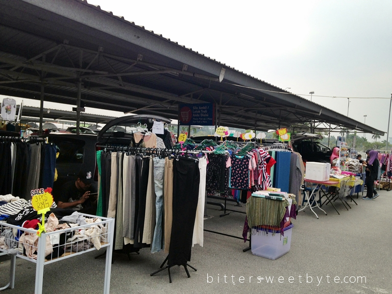 Carboot sale Tesco Extra Shah Alam 2