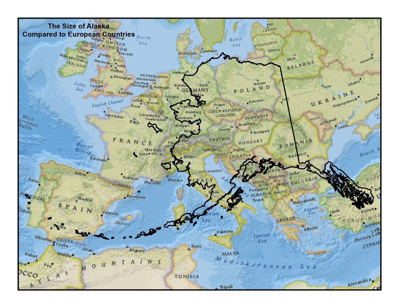 alaska-size-compared-to-europe