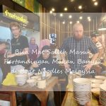 Botak dan Noodle Eating Contest at Myboatnoodle 2017