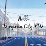 Old, Charming Town Called Virginia City, Nevada.