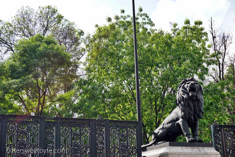 Chapultepec park in Mexico City