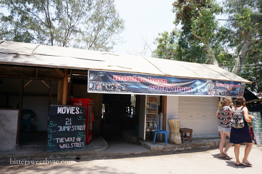 cinema in gili trawangan
