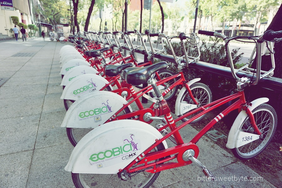ecobicycle in mexico