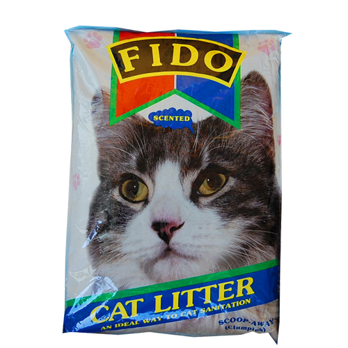 fido cat litter