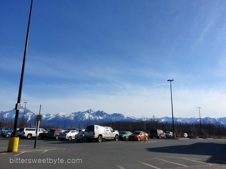 This is what the first day of Spring looks like in Mat-Su Valley, Alaska.