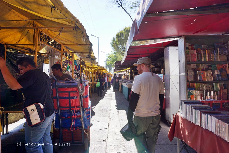 stalls in mexico city