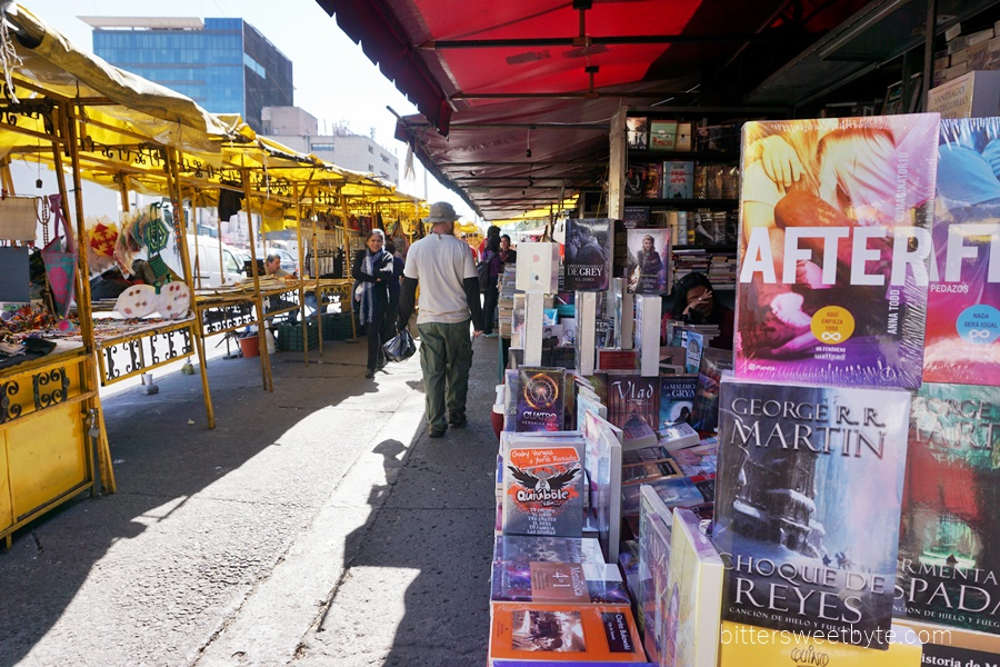 stalls in mexico city 1