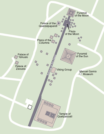 teotihuacan layout