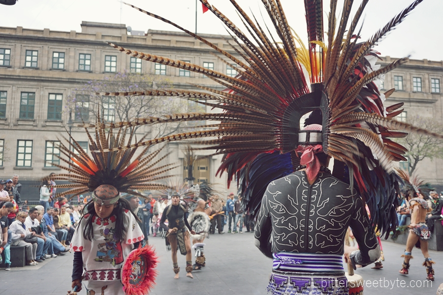 tribal dance in the city mexico 1
