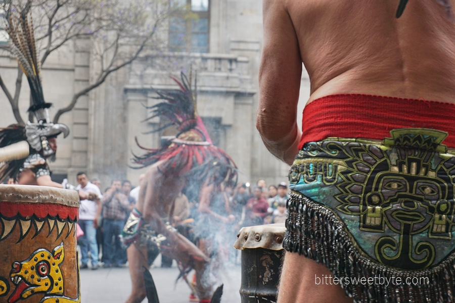 tribal dance in the city mexico 2
