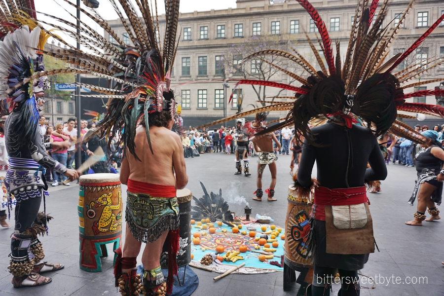 tribal dance in the city mexico 3