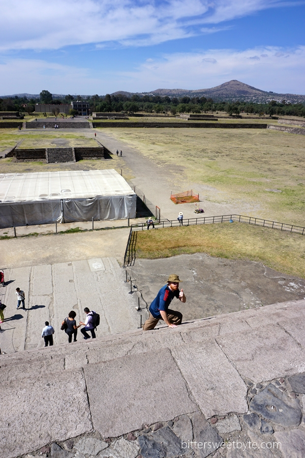 visit to teotihuacan pyramids mexico 14
